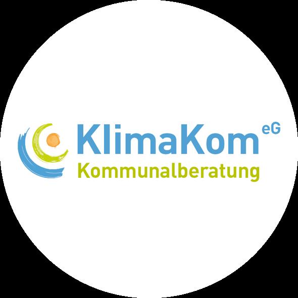 Logo der KlimaKom