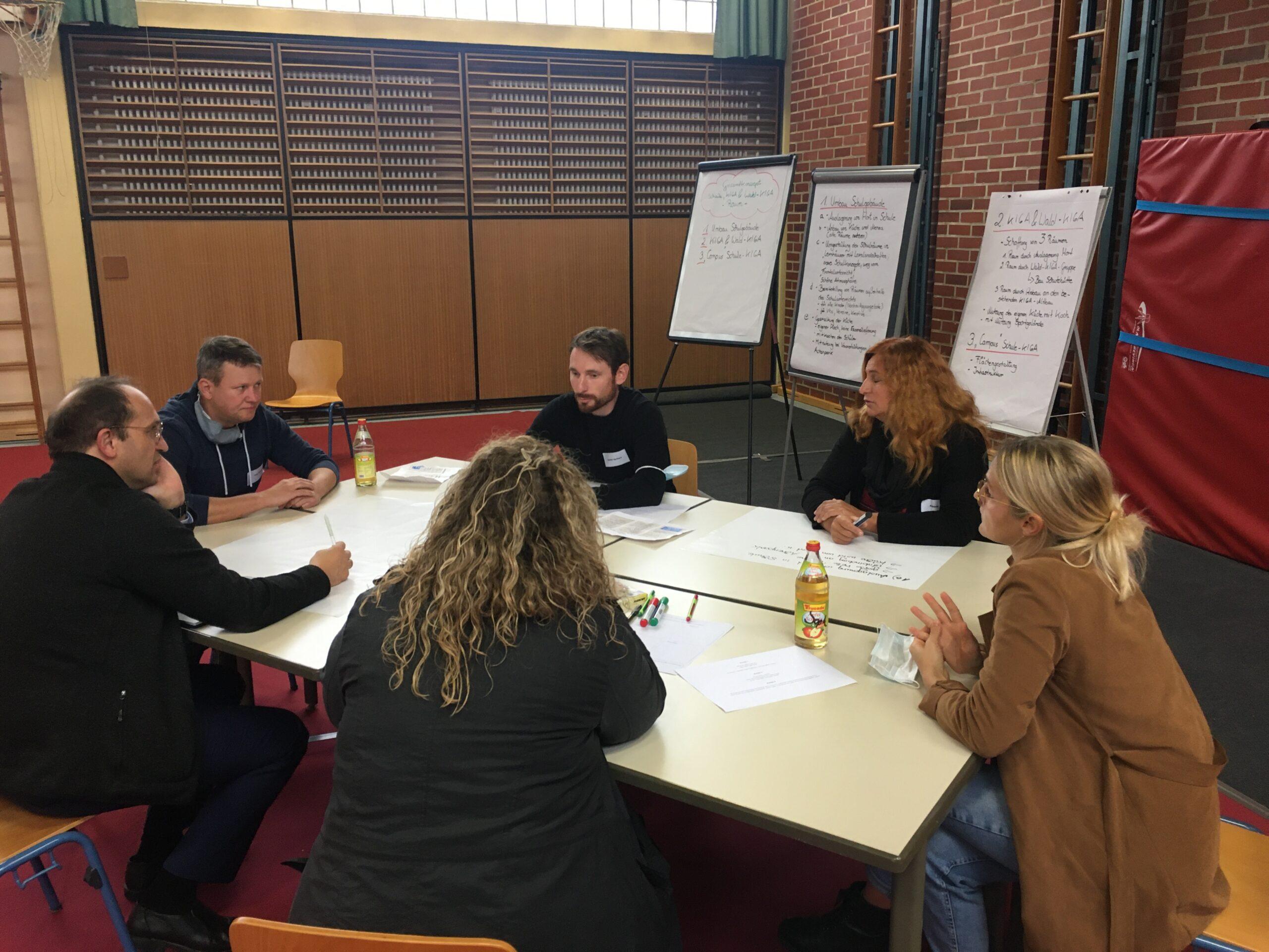 Austausch im Bürgerrats-Forum mit Bürgermeister und Gemeinderat