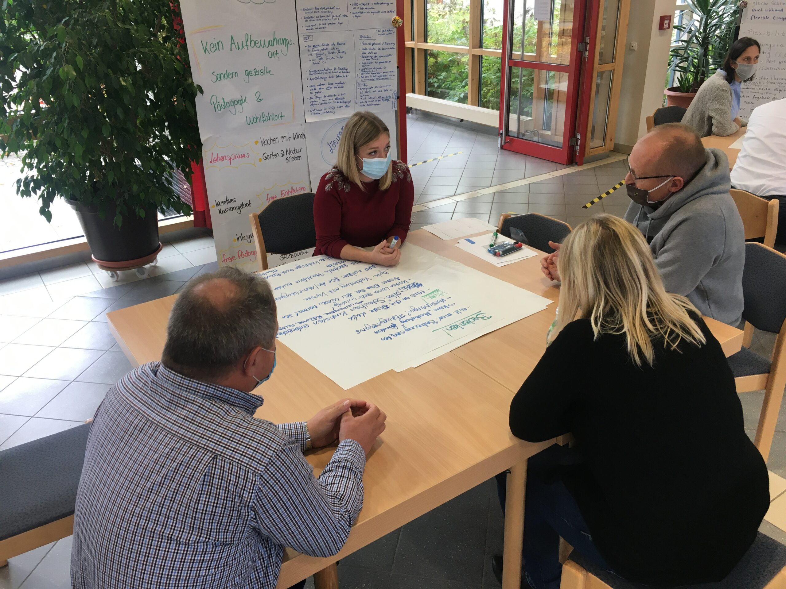 Bürgerrat diskutiert Ergebnisse mit den Gemeinderäten